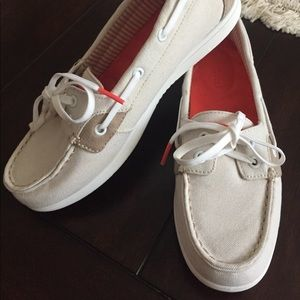 NEW Sperry Top-Sider Canvas Deck Shoes, 6.5